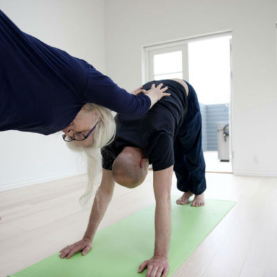 Yoga for to hos Indre ro Odense