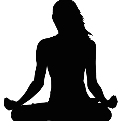 Yoga silhoutte Indre ro Odense