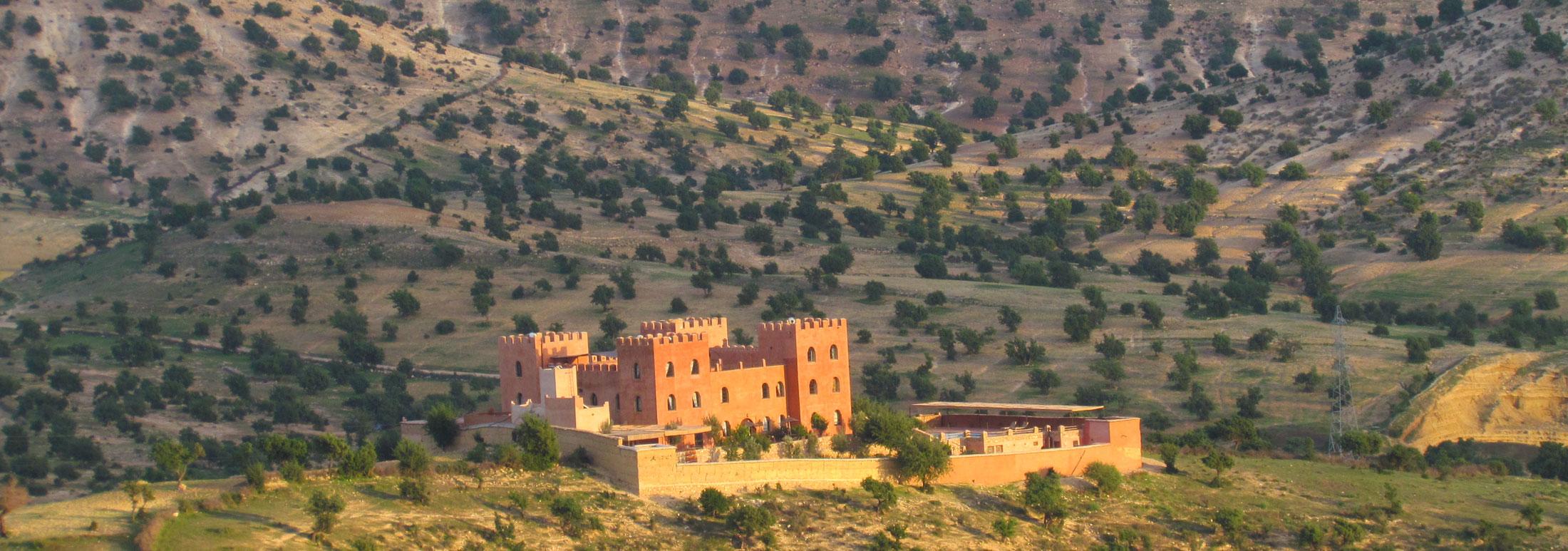 Marokko - Atlas Kasbah Ecolodge, Indre ro