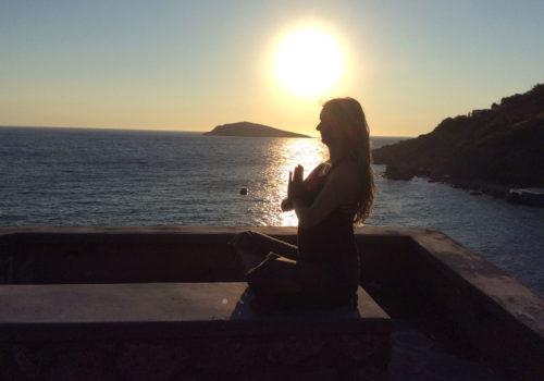 Indre ro yogarejse Grækenland